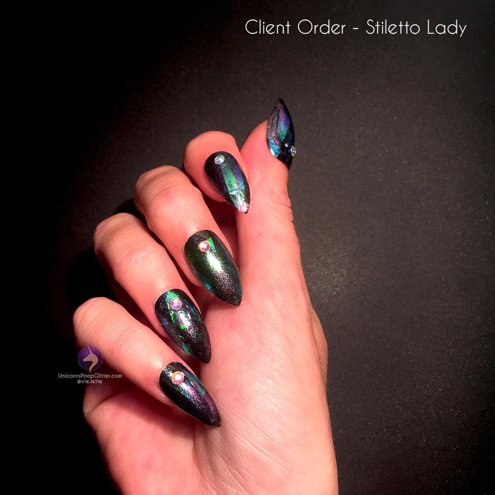 Black Opal – Unicorns Poop Glitter