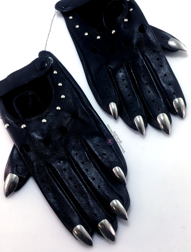 Custom Color and Size Leather Claws Claw Gloves